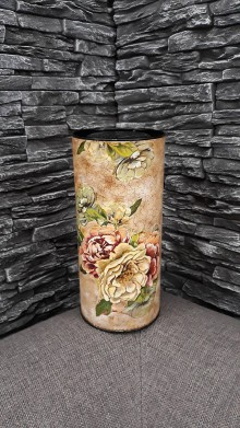 Nádoby - Dóza kvety - 10361424_