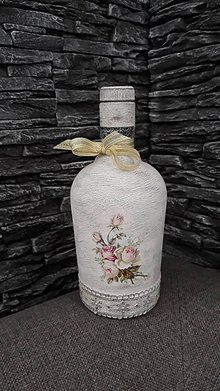 Nádoby - vintage fľaša - 10361509_
