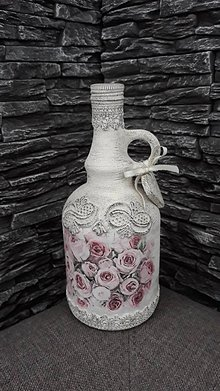 Nádoby - Vintage fľaša2 - 10361510_