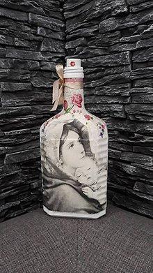 Nádoby - dekoračná fľaša - 10361624_