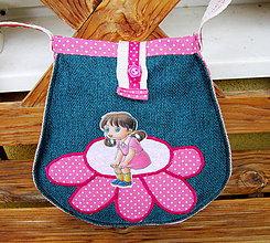 Detské tašky - Víla na kvete - kabelka pre malú slečnu - 10359167_