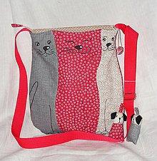 Iné tašky - tri mačky - 10361480_