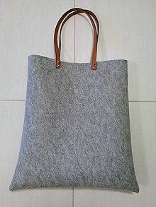 Veľké tašky - Kabelka z filcu 39 - 10360428_