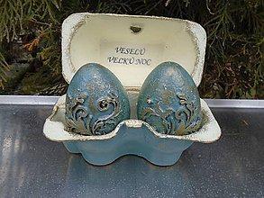 Dekorácie - vajíčka v darčekovom balení - 10360016_