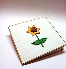 Papiernictvo - Pohľadnica ... Pozerám sa za slnkom I - 10365712_