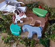 - Drevené hračky - Rodinka Koníka Pejka - 10365428_