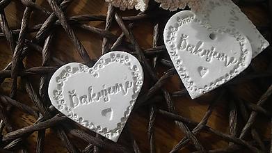 Darčeky pre svadobčanov - Svadobná magnetka - ďakujeme:-) - 10363492_