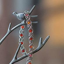 Náramky - Nezkrotný jaspis (Chirurgická ocel) - náramok - 10363479_