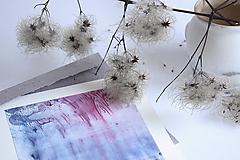 Papiernictvo - Niekde v ľadovej hmle...pohľadnica - 10365360_