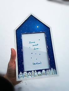 Rámiky - Rámček na fotku - fantasy houses - 10364638_