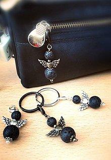 Kľúčenky - Lávový anjel - 10366262_