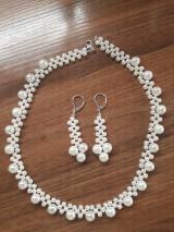 Sady šperkov - Perlová súprava - 10366096_