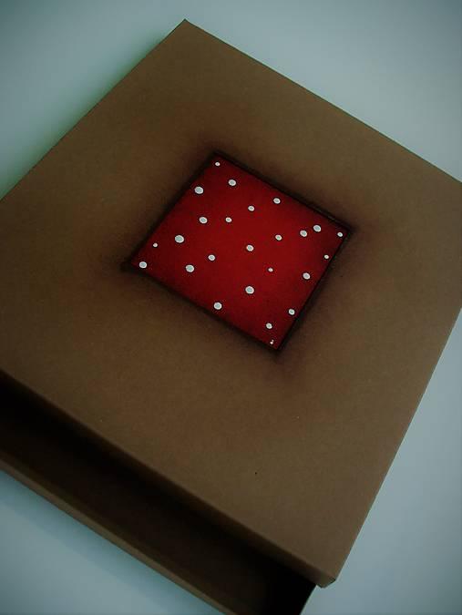 nízka darčeková krabička