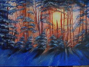 Obrazy - V jeden žiarivý zimný deň - 10362863_