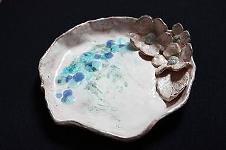 """Nádoby - keramická miska """"zamrznutá"""" - 10363821_"""