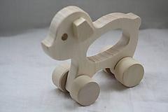Hračky - Drevené hračky. Zvieratká s otvorom pre uchopenie. - 10364845_