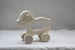 Hračky - Drevené hračky. Zvieratká s otvorom pre uchopenie. - 10364847_