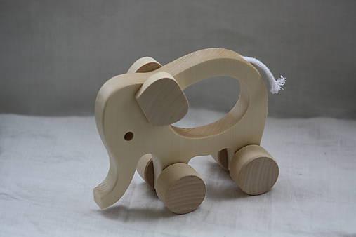 Drevené hračky. Zvieratká s otvorom pre uchopenie.