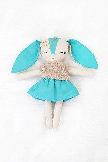 Hračky - Nature funny Dolls - Zajačica Mily - 10363854_