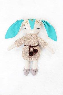 Hračky - Nature funny Dolls - Zajačica Mily - 10363863_