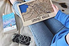 Obrazy - Nástěnná mapa Liptovský Mikuláš - 10365437_