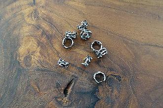 Korálky - Oceľová korálka -stainless steel- korálka 18 - 10364537_