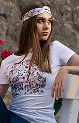 Dámske tričko z organickej bavlny ROSE COLLECTION 1