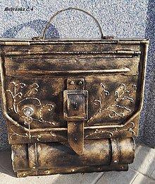 Dekorácie - Poštová schránka . s prackou - 10362270_