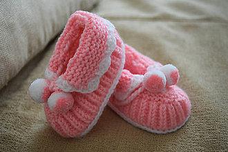 Topánočky - Detské papučky - 10364954_