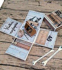 Papiernictvo - Gratulačná krabička šikovník - 10363840_