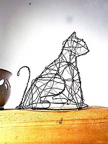 Socha - mačka domáca (priestorová:) - 10363728_