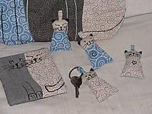 Taštičky - mačatá - 10363673_