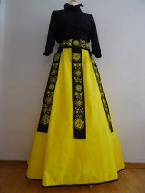 Sukňa s maľovaným opaskom