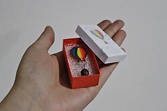 Náhrdelníky - Balónom až k oblakom - 10369615_