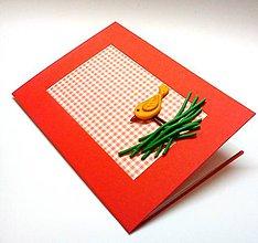 Papiernictvo - Pohľadnica ... hniezdo - 10369921_
