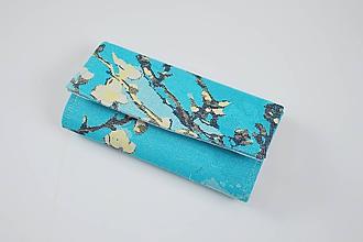 Peňaženky - Priehradková peňaženka Natibaby Almond Blossom - 10366557_
