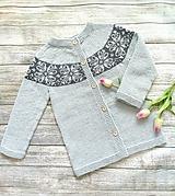 Detské oblečenie - Sveter - 10367258_