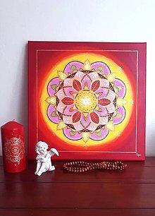 Obrazy - Mandala materiálnej hojnosti - 10367864_