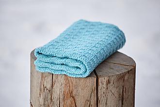 Textil - Detská deka tyrkysová - 10370369_