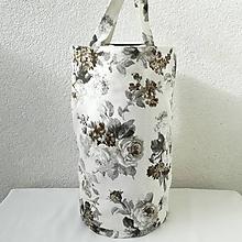 Iné tašky - Taška na obedár ruže (hnedé  07) - 10368452_