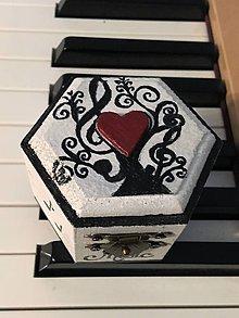 Krabičky - Šperkovnička -