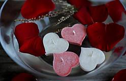 Svietidlá a sviečky - Plávajúce srdiečka MIX♥ - 10368162_