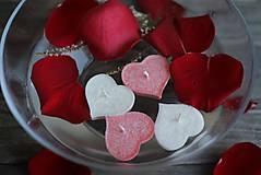 Svietidlá a sviečky - Plávajúce srdiečka MIX♥ - 10368163_