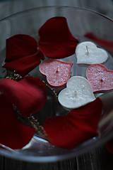 Svietidlá a sviečky - Plávajúce srdiečka MIX♥ - 10368164_