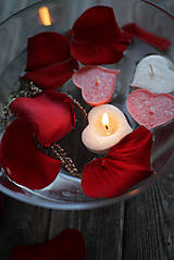 Svietidlá a sviečky - Plávajúce srdiečka MIX♥ - 10368166_