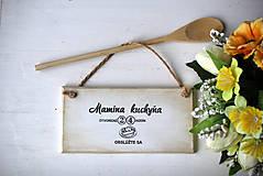 Dekorácie - Mamičkina kuchyňa - 10368284_