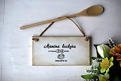 Dekorácie - Mamičkina kuchyňa - 10368286_