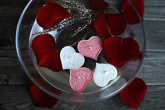 Svietidlá a sviečky - Plávajúce srdiečka MIX♥ - 10368161_