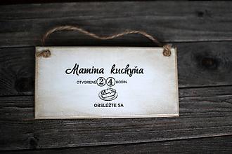 Dekorácie - Mamičkina kuchyňa - 10368281_