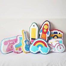 Textil - Detské vankúšiky - 10368134_